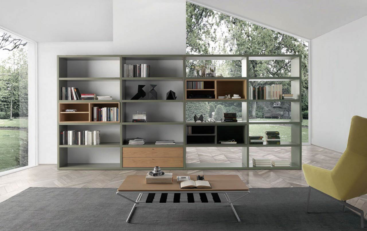 IOS bookcases by LoyraTime