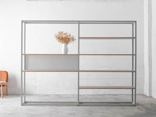 Dry Bookcases by Ondarreta
